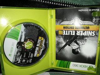 Sniper Elite 3 Ultimate Edition Xbox 360 Original
