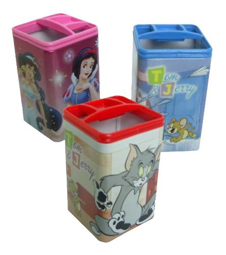 Imagen 1 de 2 de Porta Lapices Lata Infantil