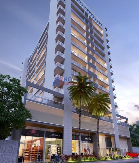 Apartamento Com 2 Quartos Para Comprar No Praia De Itaparica Em Vila Velha/es - 1843