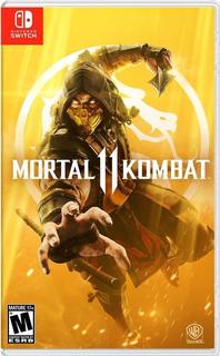 Mortal Kombat 11 Nintendo Switch Nuevo En Español Latino