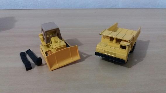 Set Miniaturas Lesney Matchbox Caterpillar
