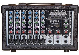 Wenstone Ma-6300e / Mp3 - Mixer / Consola Potenciada 300w