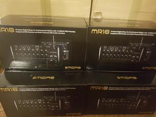 Midas Mr18 Consola Digital De Rack Entreg Inmediata