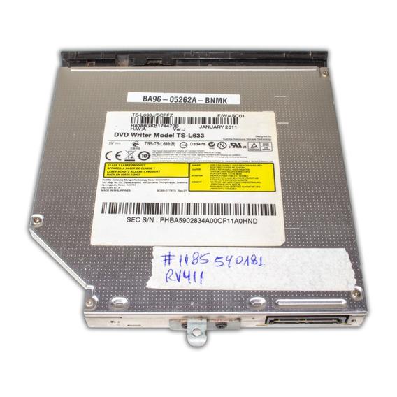 Gravador Dvd Sata Samsung Rv411 Ts-l633 | Acabamento Frontal