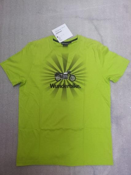 Camiseta Verde L Bmw R1200gsw S1000rr K1600gtl F800 G650 Bmw