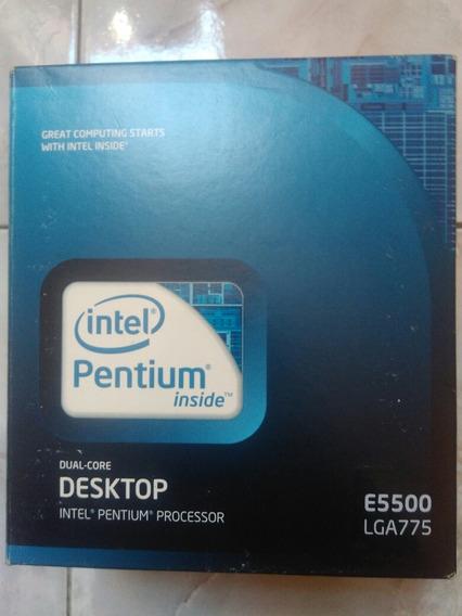 Processador Intel Pentium Dual Core E5500 Slgtj 2.80ghz.