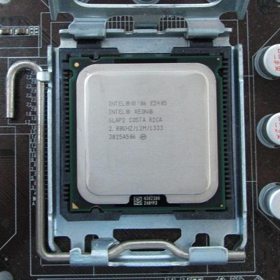 Processador Intel Xeon E5405= Quad-core 8200 2.0ghz 12mb 775