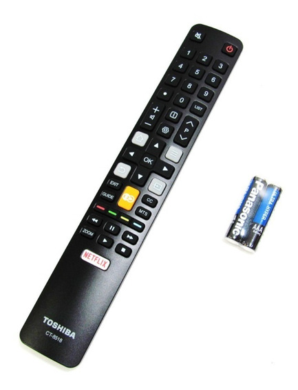 Controle Remoto Semp Toshiba Ct-8518 32l2800 Original !!