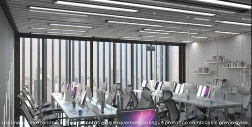 Worklab Medellin, Oficina En Preventa 59m2 A 69m2, En Col. Roma Norte