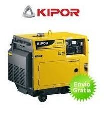 Generador Para Casa 6 Kva Kipor Kde 6500 T