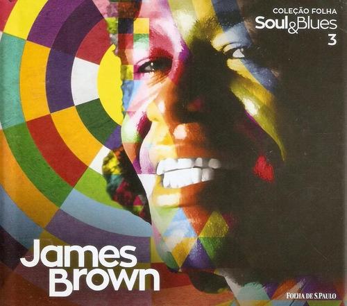 Cd James Brown Coleção Folha Soul & Blues Novo Lacrado