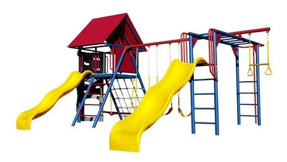 Juego Infantil Modular De Acero Para Exterior Juegos Parque
