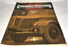 Fascículo Caminhões Brasileiros De Outros Tempos Fiat 190 H