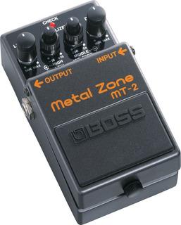 Pedal Boss Metal Zone Mt2 Mt-2 Distorsion Bien Pesada Pm