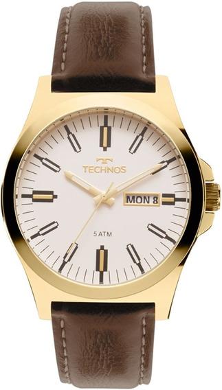 Relógio Technos Masculino Classic Steel 2305az/2b