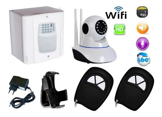 Cuidador Idoso C/ Mensagem Voz + Saída Sirene + Câmera Wi Fi