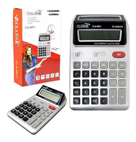 5 Calculadora Grande De Mesa Comercial Escritório Atacado.