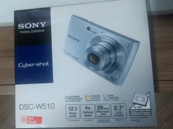 Camera Digital Sony W510 12.1mp A Bateria