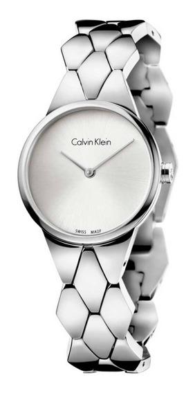 Relógio Calvin Klein - Snake - Prateado - K6e23146
