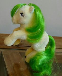A39 Mi Pequeño Pony G1 Si Soft Magic Star. My Little Pony