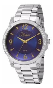 Relógio Condor Feminino Co2035kon/3a Prata- Nfe