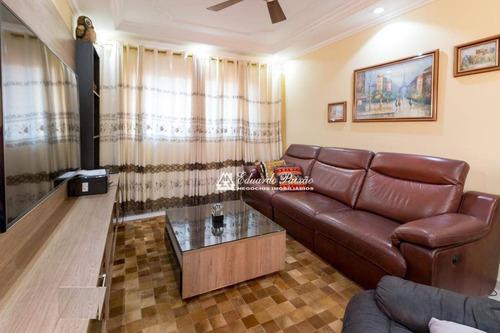 Sobrado Com 3 Dormitórios À Venda, 198 M² Por R$ 860.000,00 - Jardim São Judas Tadeu - Guarulhos/sp - So0307