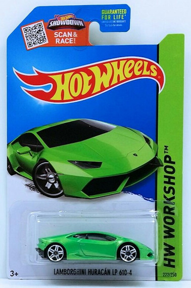 Carro Hot Wheels Lamborghini Huracan Lp 610-4 Escala 1/64