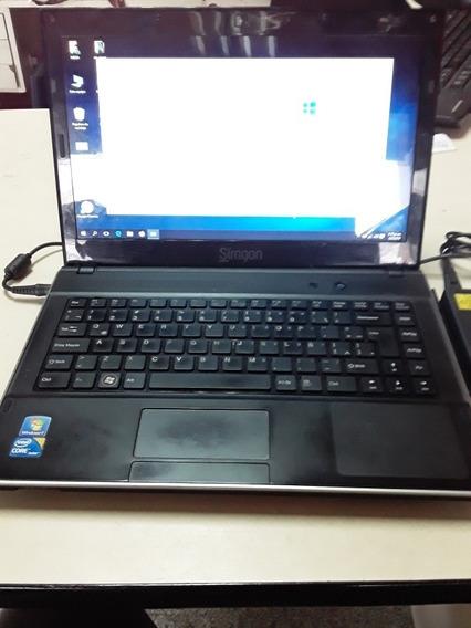 Laptop Siragon Mns-50, Core I-3, 4gb Ram, Disco Duro 500gb