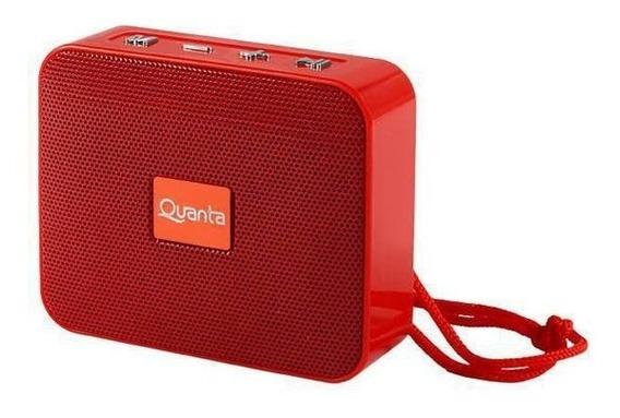 Caixa De Som Quanta Qtspb43 Sd / Usb / Bluetooth
