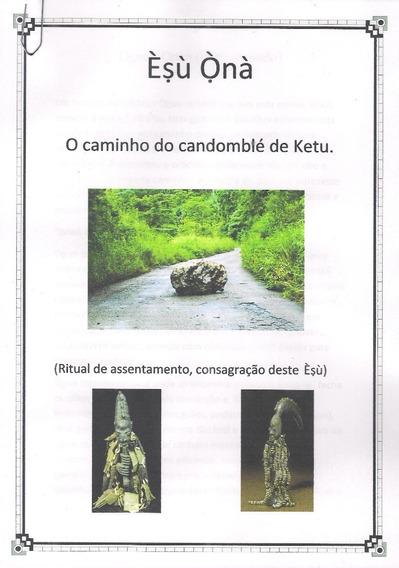 Apostila Para Assentamento De Exu Onan - Puro Ketu.