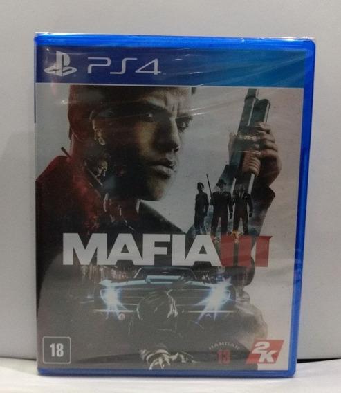 Mafia 3 Ps4 Mídia Física Lacrado