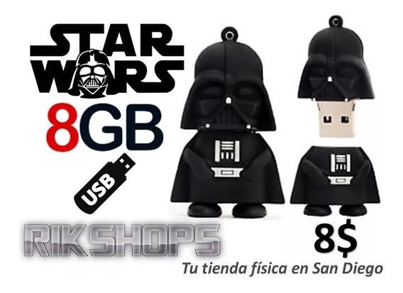 Pendrive 8gb Usb Darth Vader Starwars Tienda En 8 Verdes