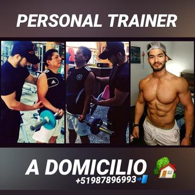 Nutricionista Y Personal Trainer A Domicilio
