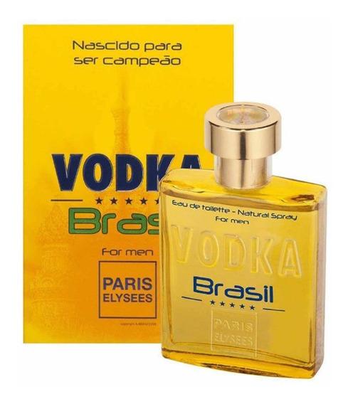 Perfume Vodka Brasil Amarelo De 100 Ml - Paris Elysées