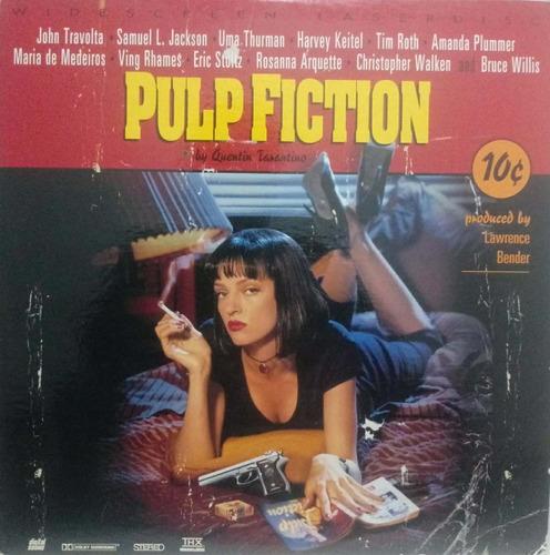 Laserdisc(2) - Pulp Fiction  Quentin Tarantino, J. Travolta