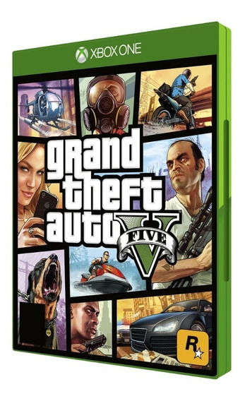 Jogo Grand Theft Auto V Gta Xbox One