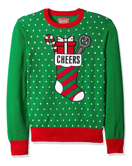 Christmas Ugly Sweater Suéter Navidad Feo Mediano Unisex