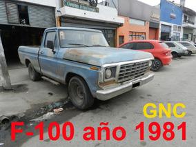 Ford F-100 Año 1981 Con Gnc