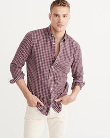 Camisas Xadrez E Social Abercrombie & Fitch E Hollister
