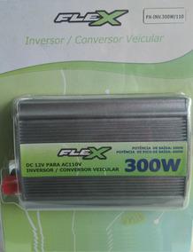 Inversor Veicular 300w 12v P/ 110v Flexgold Novo