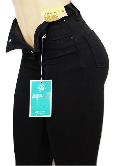 Calça Sawary Jeans Super Lipo 360 Comprime Toda A Cintura