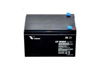 Batería 12v Sellada Libre De Mantenimiento 12ah Vision Cp