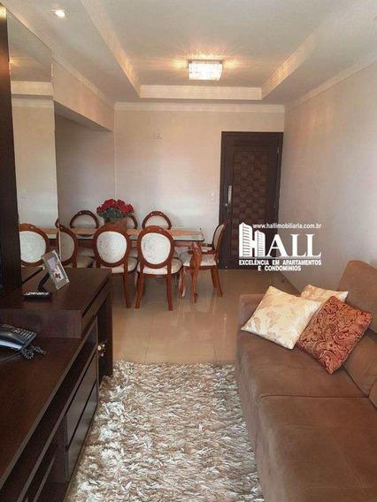 Apartamento Com 2 Dorms, Centro, São José Do Rio Preto - R$ 378.000,00, 70m² - Codigo: 3480 - V3480