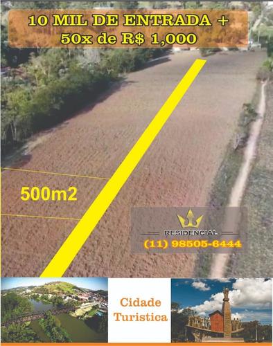 (ld)  Terrenos P/ Chacaras Aceitamos Carro Como Forma De Pag