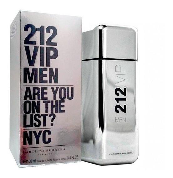 Perfume 212 Vip Men 100ml Original, Lacrado