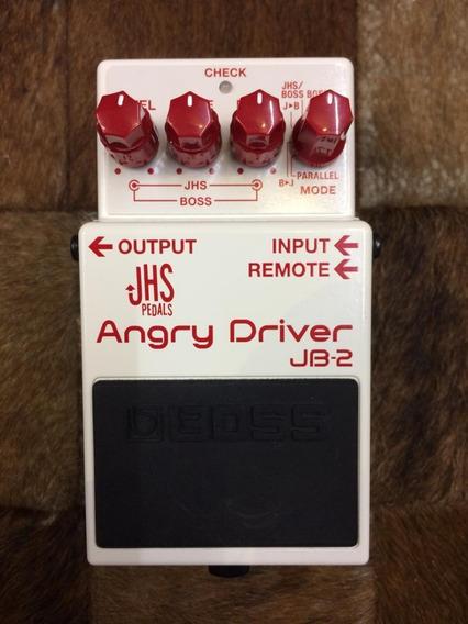 Pedal Boss Jhs Angry Driver - (raridade) Usado
