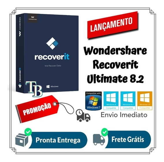 Wondershare Recoverit Ultimate 8.2 Pt Win