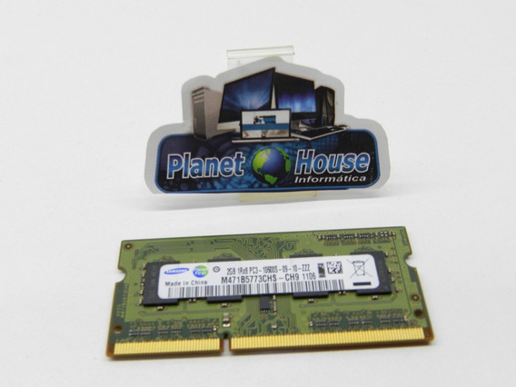 Samsung 2gb Ddr3 Memory So-dimm 204pin 1rx8 1333mhz M471b577