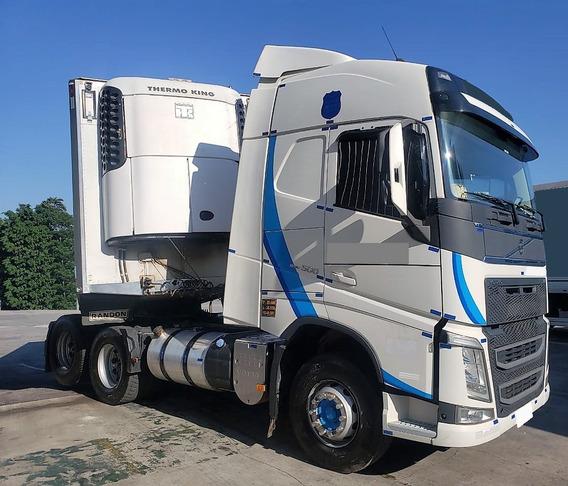 Volvo Fh 500 6x2 Teto Alto Automático 2016 C/ 306.000 Km