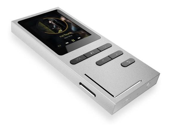 Rádio Fm Mp4 Player Gravador Suporte C/ Cartão Tf 8 Gb